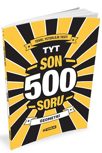 Hiz Yayinlari TYT Geometri Son 500 Soru