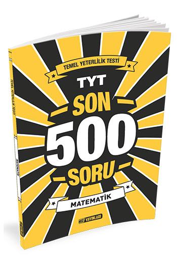 Hiz Yayinlari TYT Matematik Son 500 Soru