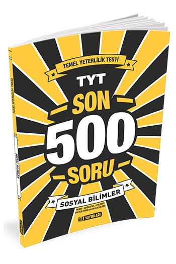 Hiz Yayinlari TYT Sosyal Bilimler Son 500 Soru
