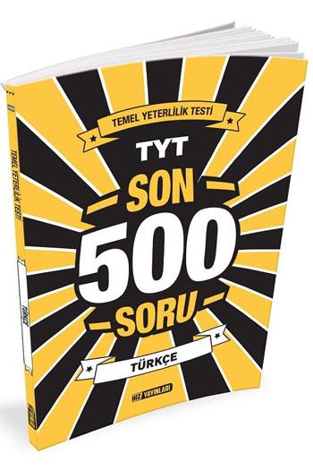 Hiz Yayinlari TYT Türkçe Son 500 Soru