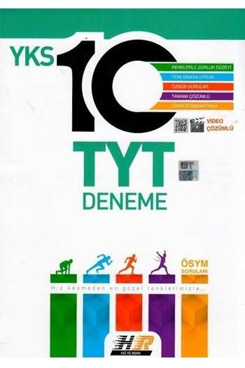 Hiz ve Renk Yayinlari YKS 1. Oturum TYT Tamami Video Çözümlü 10 Deneme