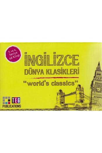 Ingilizce Dünya Klasikleri 5. ve 6. Seviye 68 Kitap Takim Teg Publications