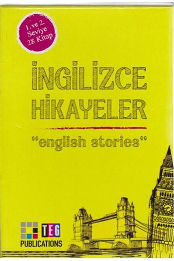 Ingilizce Hikayeler 1. ve 2. Seviye 28 Kitap Takim Teg Publications