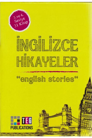 Ingilizce Hikayeler 3. ve 4. Seviye 31 Kitap Takim Teg Publications