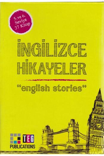 Ingilizce Hikayeler 5. ve 6. Seviye 37 Kitap Takim Teg Publications