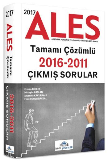 Irem Yayincilik 2017 ALES Tamami Çözümlü Çikmis Sorular