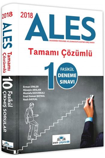 Irem Yayincilik 2018 ALES Tamami Çözümlü 10 Fasikül Deneme Sinavi