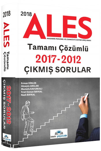 Irem Yayincilik 2018 ALES Tamami Çözümlü Çikmis Sorular