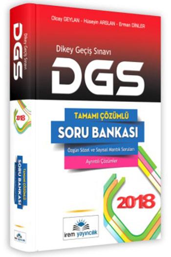 Irem Yayincilik 2018 DGS Tamami Çözümlü Soru Bankasi