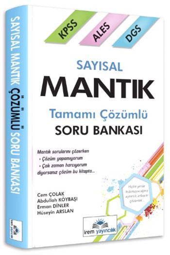 Irem Yayincilik KPSS ALES DGS Sayisal Mantik Tamami Çözümlü Soru Bankasi