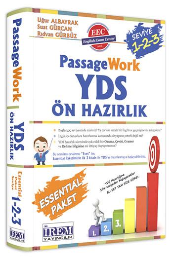 Irem Yayincilik PassageWork YDS Konu Anlatimli Ön Hazirlik (1,2,3)
