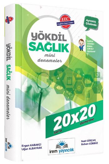 Irem Yayincilik YÖKDIL Saglik Mini Denemeler 20x20