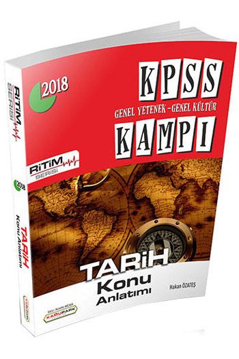 Kamupark Yayinlari 2018 KPSS Kampi Ritim Serisi Tarih Konu Anlatimi