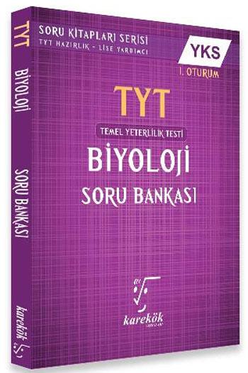 Karekök Yayinlari YKS 1. Oturum TYT Biyoloji Soru Bankasi