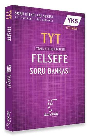Karekök Yayinlari YKS 1. Oturum TYT Felsefe Soru Bankasi