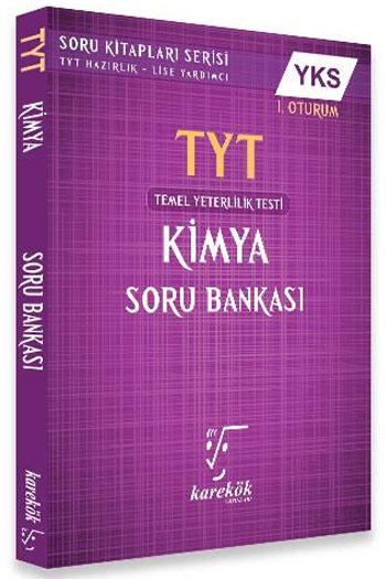 Karekök Yayinlari YKS 1. Oturum TYT Kimya Soru Bankasi