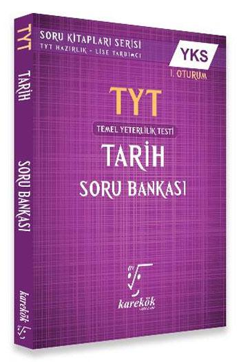 Karekök Yayinlari YKS 1. Oturum TYT Tarih Soru Bankasi