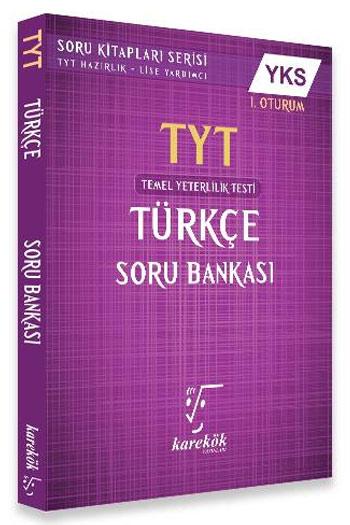 Karekök Yayinlari YKS 1.Oturum TYT Türkçe Soru Bankasi