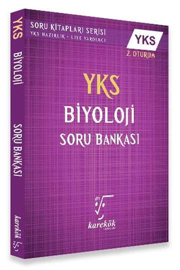 Karekök Yayinlari YKS 2. Oturum Biyoloji Soru Bankasi