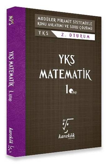 Karekök Yayinlari YKS 2. Oturum Matematik 1. Kitap