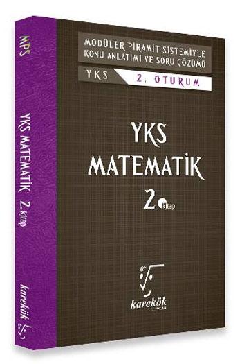 Karekök Yayinlari YKS 2. Oturum Matematik 2. Kitap