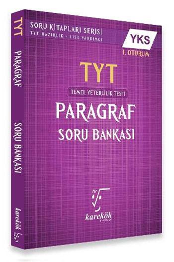 Karekök Yayinlari YKS TYT 1. Oturum Paragraf Soru Bankasi