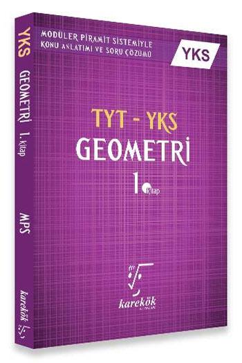 Karekök Yayinlari YKS TYT Geometri Konu Anlatimi 1. Kitap