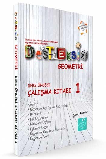 Kartezyen Yayinlari Desteksiz Geometri Ders Öncesi Çalisma Kitabi-1