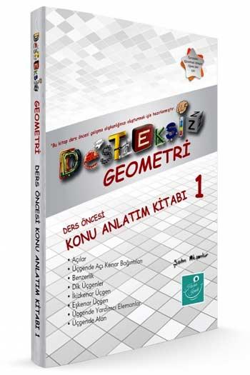 Kartezyen Yayinlari Desteksiz Geometri Ders Öncesi Konu Anlatim Kitabi-1