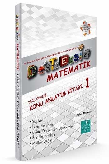 Kartezyen Yayinlari Desteksiz Matematik Ders Öncesi Konu Anlatim Kitabi-1
