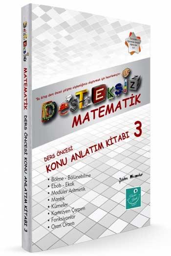 Kartezyen Yayinlari Desteksiz Matematik Ders Öncesi Konu Anlatim Kitabi-3