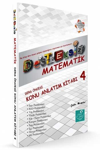 Kartezyen Yayinlari Desteksiz Matematik Ders Öncesi Konu Anlatim Kitabi-4