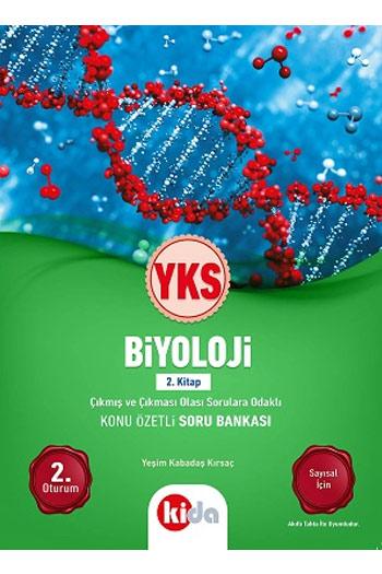 Kida Yayinlari YKS 2. Oturum Biyoloji Konu Özetli Soru Bankasi 2. Kitap