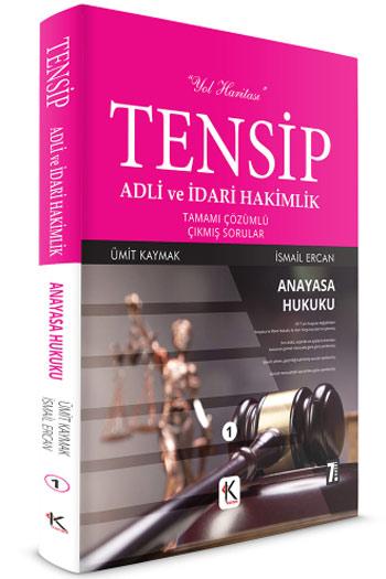 Kuram Kitap TENSIP Adli ve Idari Hakimlik Anayasa Hukuku Tamami Çözümlü Çikmis Sorular