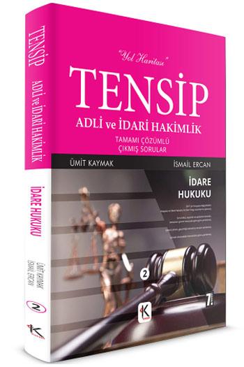 Kuram Kitap TENSIP Adli ve Idari Hakimlik Idare Hukuku Tamami Çözümlü Çikmis Sorular
