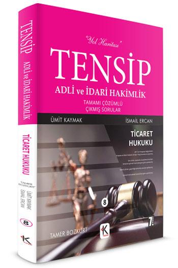 Kuram Kitap TENSIP Adli ve Idari Hakimlik Ticaret Hukuku Tamami Çözümlü Çikmis Sorular