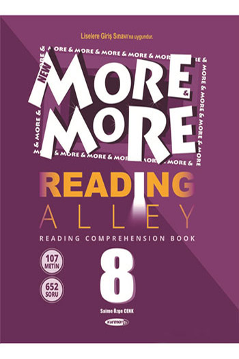 Kurmay ELT 8. Sinif New More More English Reading Alley Test Book