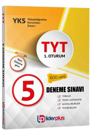 Lider Plus Yayinlari YKS 1.Oturum TYT 5 Deneme Sinavi