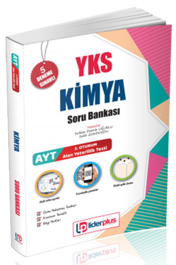 Lider Plus Yayinlari YKS 2.Oturum AYT Kimya Soru Bankasi