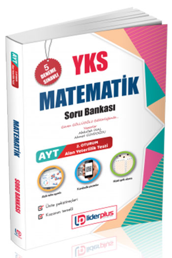 Lider Plus Yayinlari YKS 2.Oturum AYT Matematik Soru Bankasi