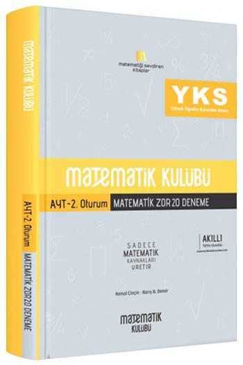 Matematik Kulübü YKS 2. Oturum AYT Matematik Zor 20 Deneme