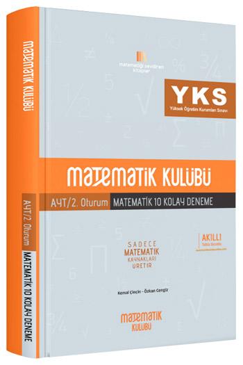 Matematik Kulübü YKS 2.Oturum AYT Matematik 10 Kolay Deneme