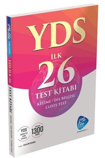 MeToo Publishing YDS Cloze Test Ilk 26 Test Kitabi