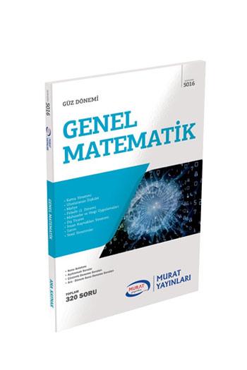Murat Yayinlari 1. Sinif 1. Yariyil Genel Matematik Kod 5016