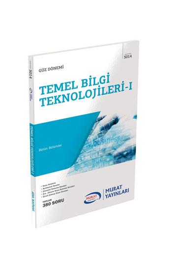 Murat Yayinlari 1. Sinif 1. Yariyil Temel Bilgi Teknolojileri 1 Kod 5014