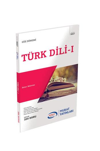 Murat Yayinlari 1. Sinif 1. Yariyil Türk Dili 1 Kod 9007