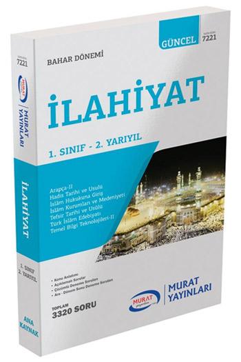 Murat Yayinlari 1. Sinif 2. Yariyil Ilahiyat Kod 7221