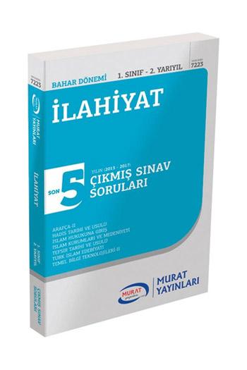 Murat Yayinlari 1. Sinif 2. Yariyil Ilahiyat Son 5 Yil Çikmis Sinav Sorulari Kod 7223
