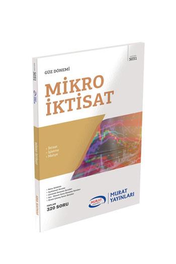 Murat Yayinlari 2. Sinif 3. Yariyil Mikro Iktisat Kod 5031