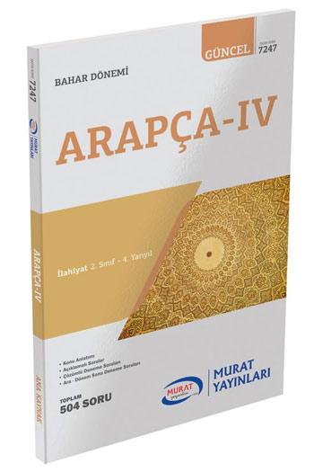 Murat Yayinlari 2. Sinif 4. Yariyil Arapça-4 Kod 7247